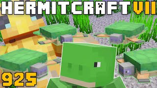 Hermitcraft VII 925 Preparing For 1.16 With Turtles!