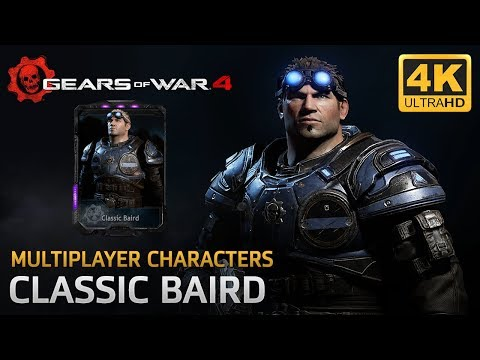 Gears of War 4 - Multiplayer Characters: Classic Baird