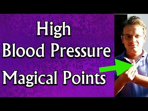 Acupressure Points For HIGH BLOOD PRESSURE    High BP ...
