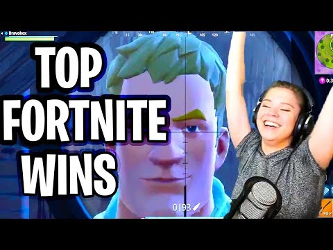 Fortnite Win Compilation (Twitch Top Funny Moments of Victory Fortnite Battle Royale)