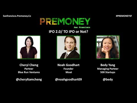 [PreMoney SF 2017]  IPO 2 0/ TO IPO or Not?