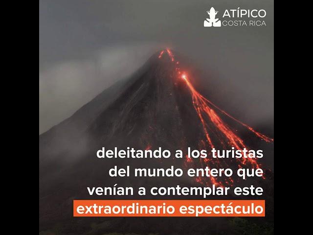 Hechos históricos de La Fortuna y el Volcán Arenal