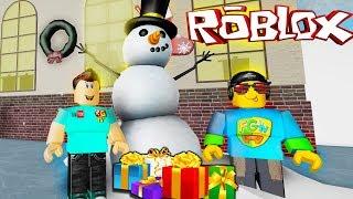 КАК МЫ ПОДАРКИ И НОВЫЙ ГОД СПАСЛИ Симулятор обби роблокс вместе с Roblox Games TV 2019