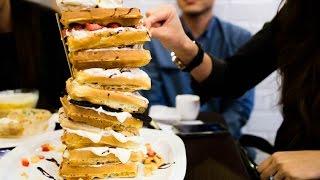Super Big Mac Waffle Challenge | Furious Pete