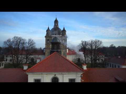 Monastery Aerial Video
