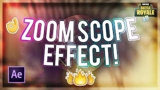 Zoomed Out Scope Effect! (How To Edit Fortnite) - Tutorial