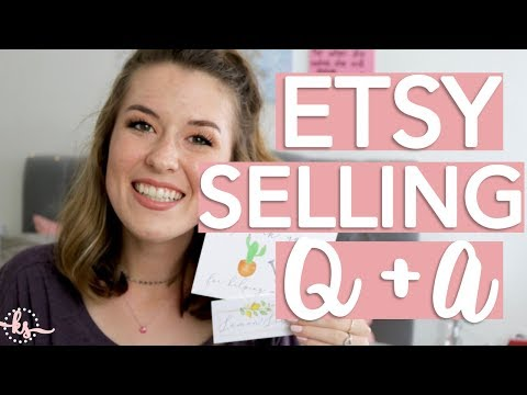 How to Sell on Etsy for Beginners Q + A