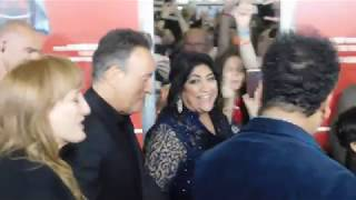 """""""Blinded By The Light"""" Movie Premiere - Bruce Springsteen Arrives On The Red Carpet In Asbury Park"""