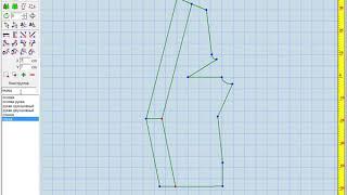 Моделирование жакета с отделочной полосой