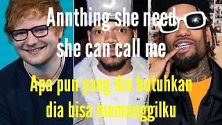 Ed Sheeran Cross Me X Chance The Rapper X PnB Rock (Lirik Terjemahan) Indonesia