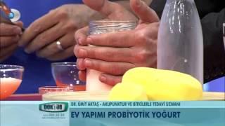 Ev yapımı probiyotik yoğurt