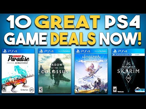10 GREAT PS4 Game Deals Available NOW!