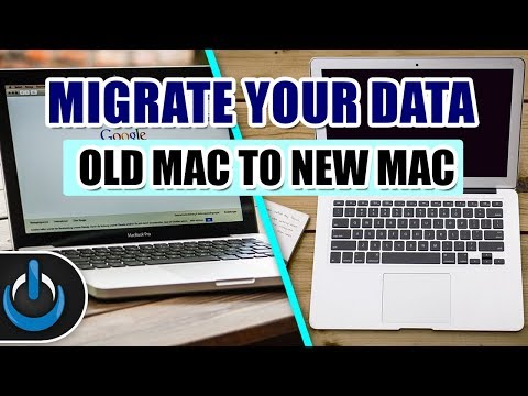 How To Migrate Your Data From An OLD Mac To A NEW Mac