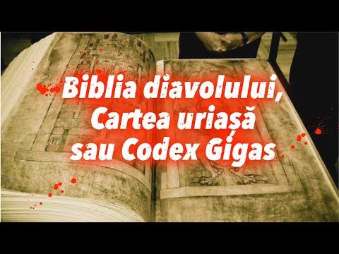 BIBLIA DIAVOLULUI - CODEX GIGAS