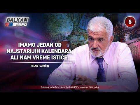 INTERVJU: Milan Paroški - Imamo jedan od najstarijih kalendara, ali nam vreme ističe! (8.9.2018)