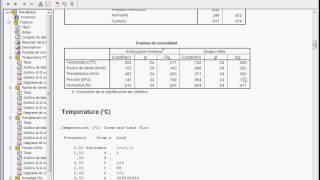 Test de normalidad Kolmogorov-Smirnov Shapiro-Wilk con SPSS