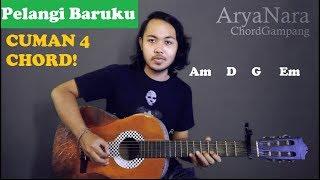 Chord Gampang (Pelangi Baruku - Dhyo Haw) by Arya Nara (Tutorial Gitar) Untuk Pemula