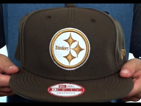 Steelers  TEAM-BASIC SNAPBACK  Brown-Wheat Hat by New Era - YouTube 1d9274c76