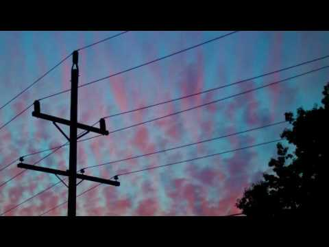Hour Long Version Power Line Hum ASMR - Time Lapse - White/Pink/Brown Noise