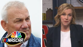 Dale Jarrett joins NASCAR America to share his thoughts on Ryan Newman | Motorsports on NBC