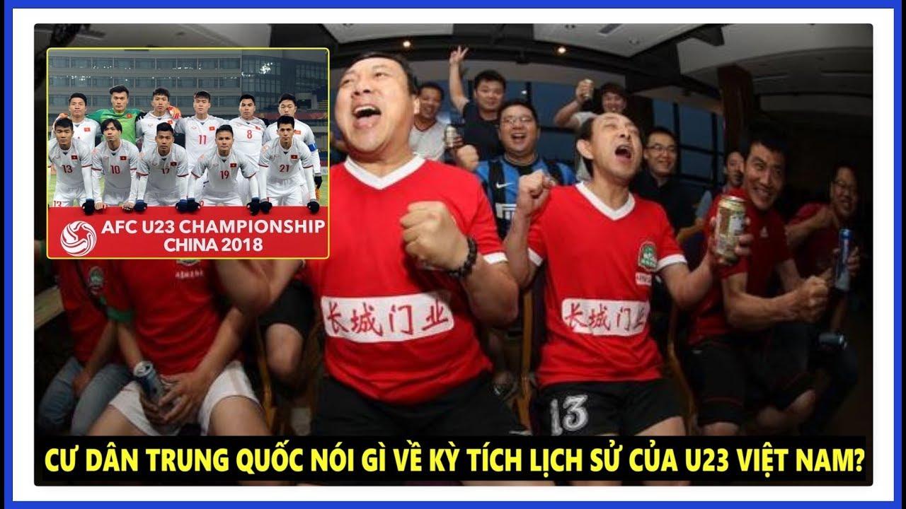 Cư dân mạng Trung Quốc nói gì trước kỳ tích của U23 Việt Nam ngay trên đất nước mình?