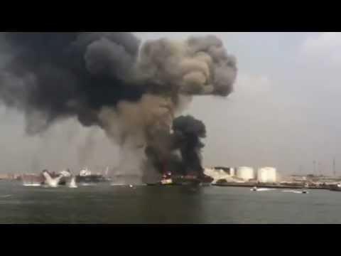 Tanker vessel explodes in Nigeria | Dewald620