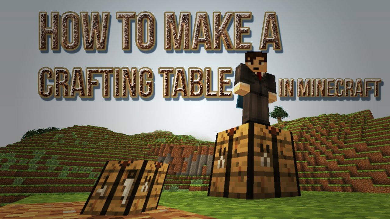 How to make a crafting table in minecraft crafting for How to draw a crafting table