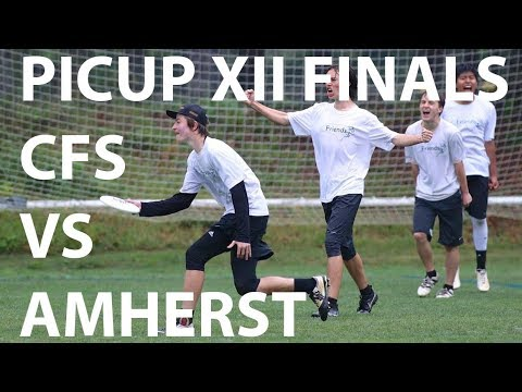 CFS vs Amherst PiCup XII Finals