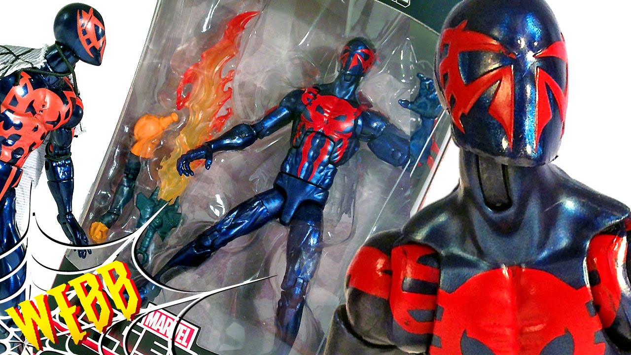 Spiderman 2099: Marvel Legends SPIDER-MAN 2099 Action Figure Review