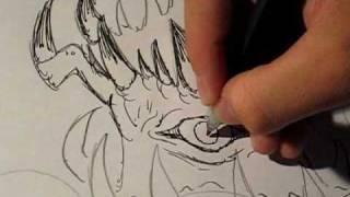 I Draw Creatures Episode 38- The Kraken 2