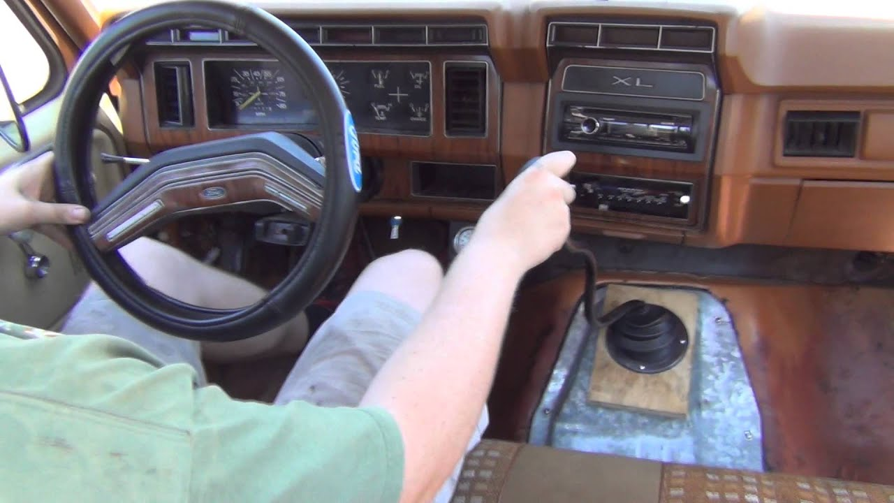 1982 F150 4bt Cummins Shifting Through The Gears Youtube