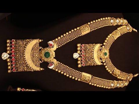 Gold Pendant Heavy Necklace Designs 2019