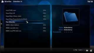 XBMC Android için seyirTURK Repo Eklentisi