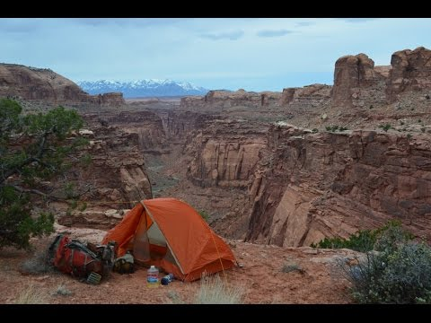 Backpacking Utah:  The Sam's Mesa, Twin Corral, Dirty Devil River Loop