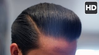 Repeat youtube video How to Style a Pompadour with Thin & Straight Hair