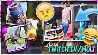 THIS MADE MOLT LEAVE THE ROOM :: CLASH ROYALE