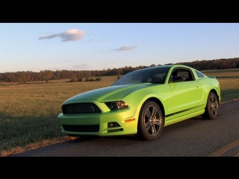 2013 Ford Mustang V6 Premium Review 0 60 Test Drive Mpgomatic