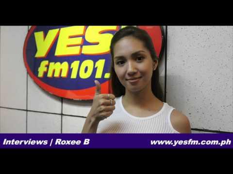Roxee B at Yes FM Manila