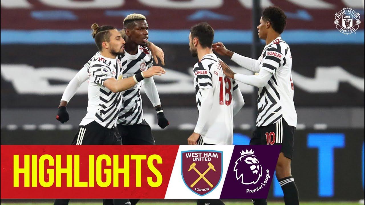 Highlights Pogba Greenwood Rashford Seal Comeback Win West Ham 1 3 Manchester United Youtube