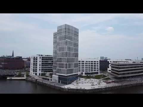 Hamburg-Hafencity, Baustelle Baakenallee, Magdeburger Brücke, Lighthouse Zero