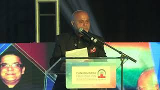 Anil Shah, Chair, CIF, at CIF's Annual Global Indian Award Gala 2019