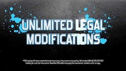 Just Car Insurance - TV Commercial - Unlimited Legal Modifications