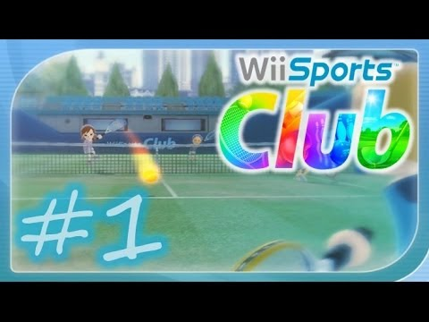 Wii Sports Club - Tennis Online Gameplay Part 1 - Wii U (1080p HD)