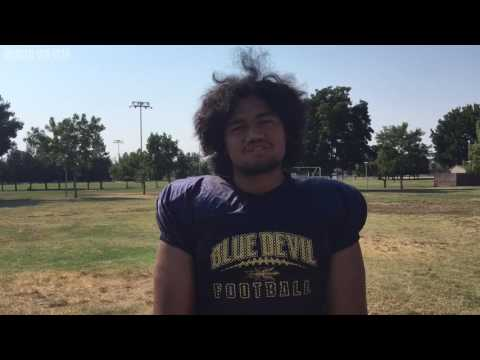 Merced College Lineman Kamilo Tongamoa On Rejoining The Team