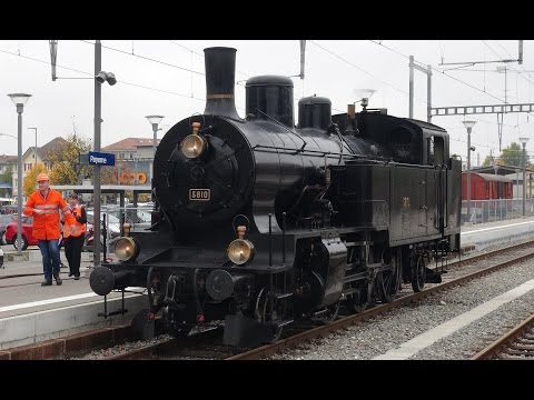 Steaming Around Bern's Suburban Railways