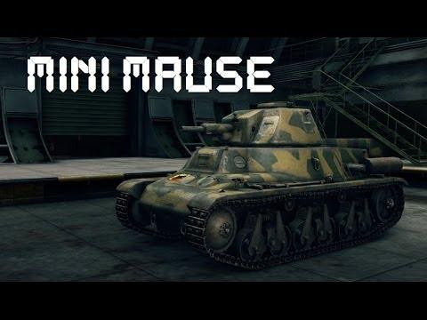 mini maus do wygrania world of tanks youtube. Black Bedroom Furniture Sets. Home Design Ideas