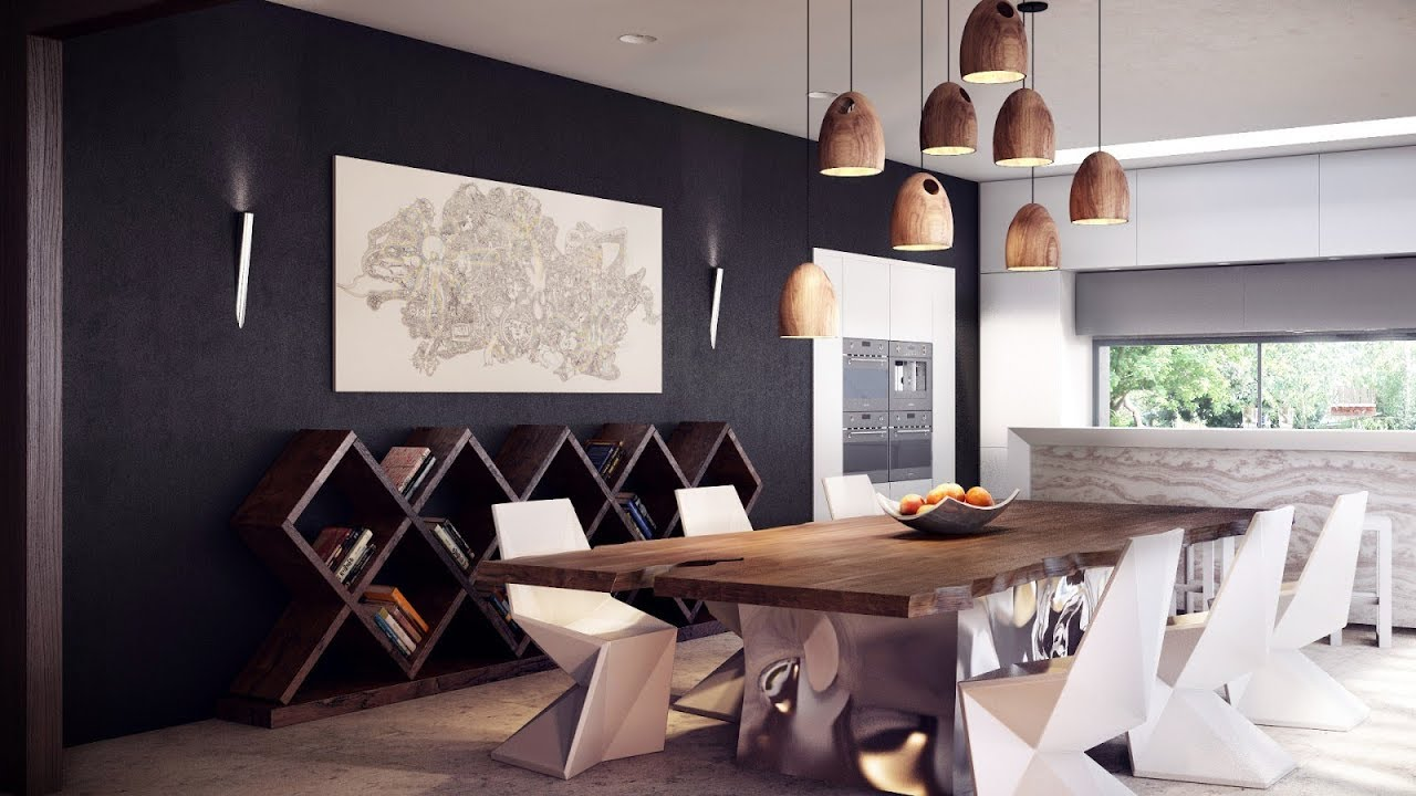 50+ Modern Dining Room Decorating Ideas