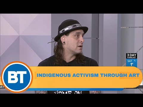 Activism through art: Representing Indigenous Canadians
