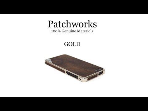 Alloy X Wood Gold - для iPhone 5 от компании Patchworks