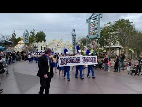 Irish Knight Band Disneyland 2018 Performance | Norte Dame High School